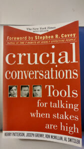 Crucial Conversions Tools for talking when stakes are high