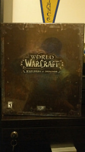 World Of Warcraft : Warlords of Draenor Collectors Edition. NEW.