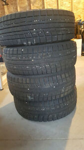 Winter Tires - Set of 4 with Rims