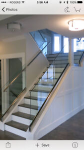 Holiday Special Price for Glass Guard Railing Systems