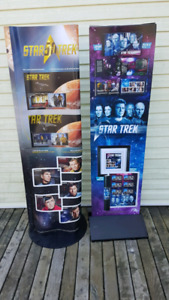 2 Canada Post Star Trek standees. $20 for both.