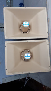 electro voice (EV) pa-430t weather proof pa speakers
