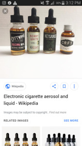 Want vape e liquid 0 or 3 nic
