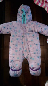Snowsuit and Girls clothes