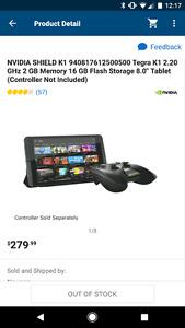 Nivida shield tablet k1 (newest model)