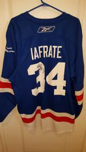 Autographed Al Iafrate jersey