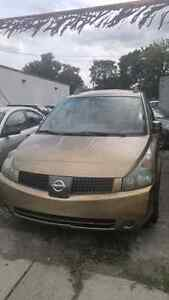 2004 nissan quest full load cert and etest $2950