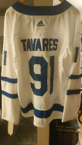 Toronto Maple leafs Tavaras mens hockey jersey