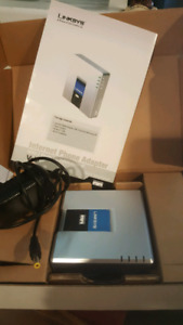 Linksys Internet Phone Adapter PAP2T