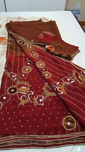 Indian Party Wear Fancy Sarees and Ladies suits Windsor Region Ontario image 9