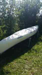 Canoe - 16.5 ft Fiberglass Kawartha Lakes Peterborough Area image 5