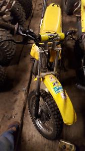 1998 suzuki ds 80cc dirtbike