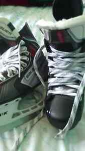 Sneakers,cleats,boots, and skates
