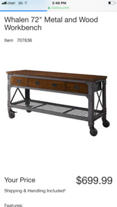 Costco Whalen workbench
