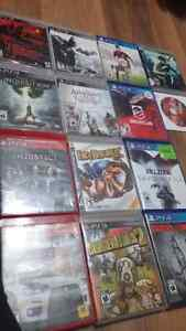 Ps3 games and ps4