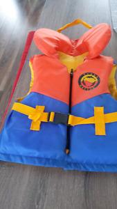 Veste de flottaison enfant de 4 a 7 ans