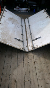 MORGAN VAN BODY CARGO VAN BARN DOORS