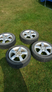 Mazda Rim With All Season Tires OBO