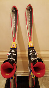 Rossignol Youth Skis & Nordica Boots (used) Peterborough Peterborough Area image 1