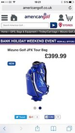 Mizuno golf bag limited edition