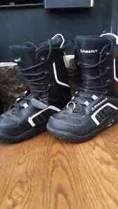 3 Pairs of snowboard boots Peterborough Peterborough Area image 2