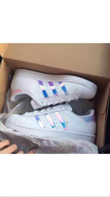 Adidas Superstar Womens Rainbow