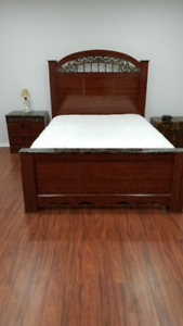 Gorgeous Ashely Home 4 piece Queen Bedroom set sale-$950