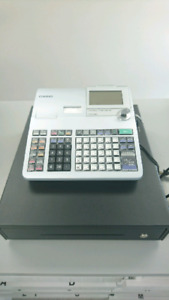 Casio PCR-T2400 Electronic Cash Register, Double Printer