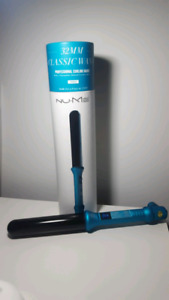 Nume 32MM Classic Wand - Professional Curling Wand - Turquoise