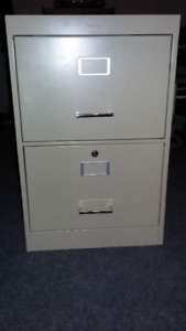 Legal 2-Drawer Metal Filing Cabinet