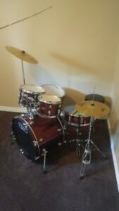 Mapex Tornado drum kit - new condition - price lowered