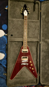 2016 Gibson Flying V Traditional Pro in Wine Red Burst