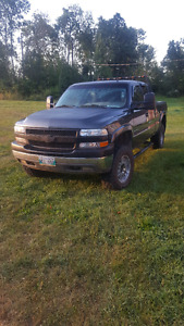 2001 chevy 2500 with 2005 lly duramax swap