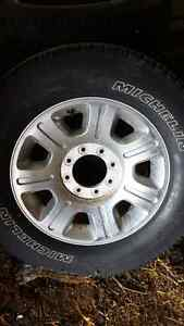 4 Michelin Ltx - a/t with Ford rims