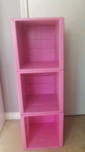 Solid wood boxes/bookcase/storage