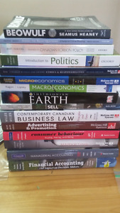 SMU TEXTBOOKS FOR SALE (ACCT, ECON, HIST, MKTG, MGMT, POLI, etc)