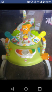 Forest Theme Space Saving Jumperoo