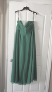 EMERALD GREEN - ALFRED ANGELA - LONG DRESS