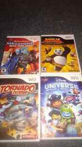 Wii games rated E 10+... prices listed