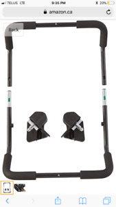 Brand new - baby jogger car seat adapter