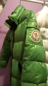 Authentic Moncler Down Jacket size 1