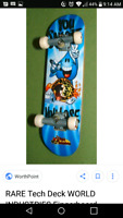 Rare World industries complete skateboard