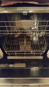 Recent model Bosch dishwasher for sale. Extra insulation, heavy