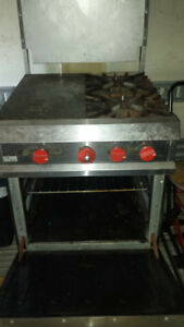 commercial Valcan gas stove