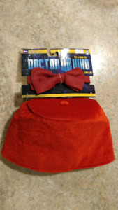 Dr. Who costume fez & bow tie