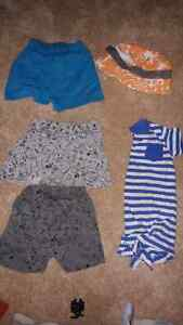 5 items for summer sz 6-12 months