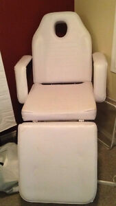 Spa chair massage table