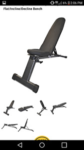 Northern Lights Easy store Incline Decline Bench