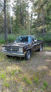 1987 2wd Chevy truck