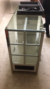 Jewlery Glass Cabinet with LED display lights for sale